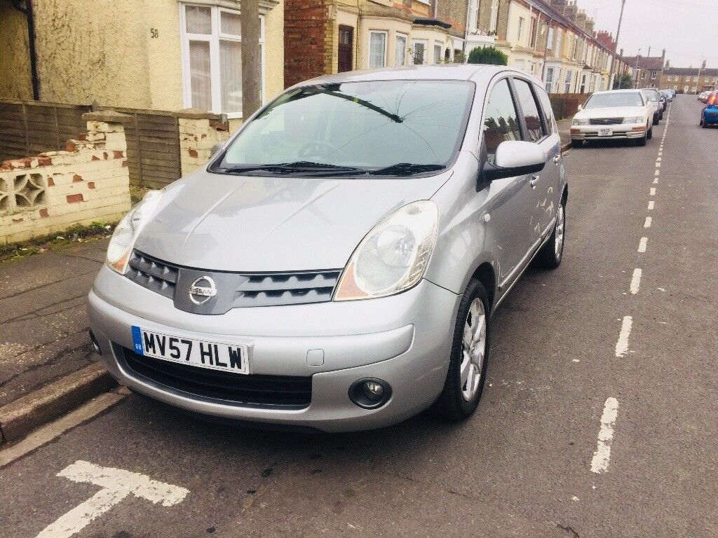 Nissan Note Tekna 2007 Automatic 1 owner from new Mot ex 08-01-2019. Amazing Little car!!!!!