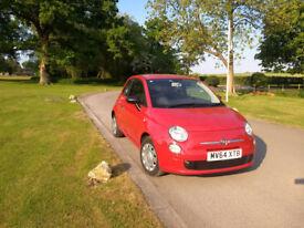 Fiat 500 Pop MOT due 10/07/2019 FSH 2 keys 16500 miles