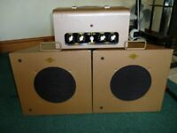1950/60s Elpico AC85 and matching speakers