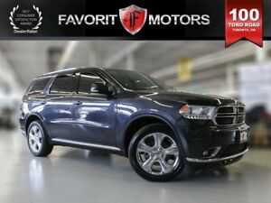 2015 Dodge Durango Limited, Sunroof, Leather, Nav, DVD