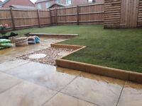 Landscaping and Garden Services - Slabs/Turf/Artificial Grass/Sleeper Planters - Free Quotes