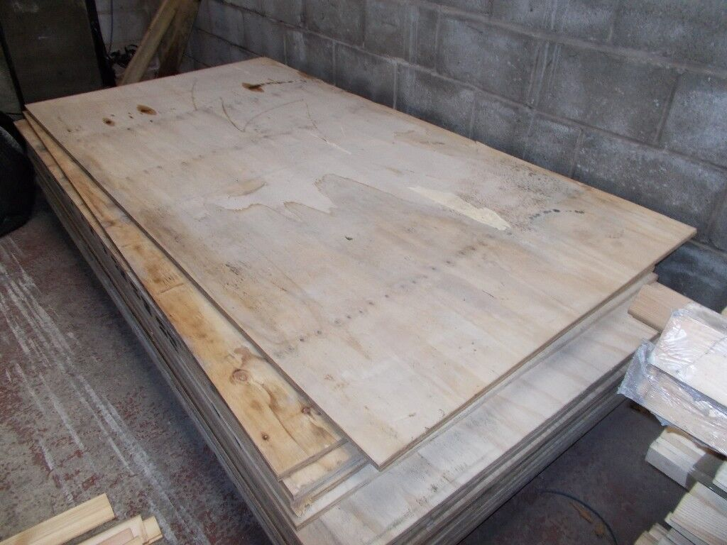Reclaimed Ply Sheets 8ft x 4ft 18mm thick ONLY £15 00 per sheet | in  Hucknall, Nottinghamshire | Gumtree