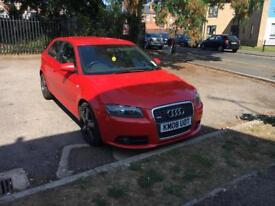 Audi A3 Sline.