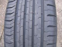 continental contact 5 - 195/50 R15............ tyres x 2