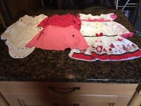 Bundle of girls' clothes for sale - 6-9 months, excellent condition, 6 items for just £3!