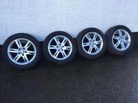 Seat alloy wheels tyres