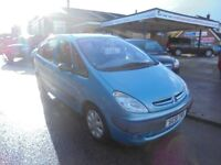 2002 51 citroen xsara picasso 1.6 sx, 12 months mot, just in awaiting valet, 30 + cars in stock.