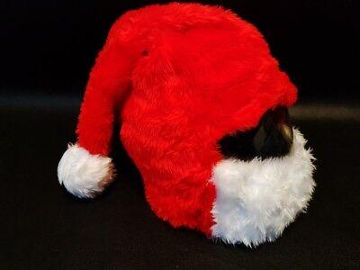 MOTORCYCLE COVER MOTORBIKE FUNNY HEEDS CRAZY CASE HELMET COVERS SANTA CLAUS HAT](Crazy Santa Hats)