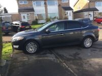 08 Ford Mondeo Ghia tdci service history long mot low insurance low cost £1595
