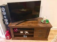 Corner TV Unit - fits up to 50 inch TV