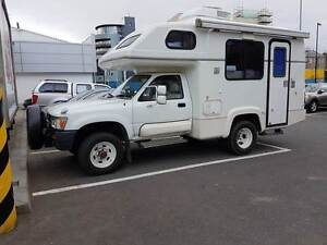 1991 Toyota Hilux Motorhome Bundall Gold Coast City Preview