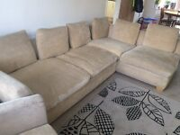 Used Cousins L shaped sofa & chair