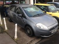 06 FIAT PUNTO 1.2 ACTIVE 5 DR CHEAP TAX AND INSURANCE MOT SEP £1395