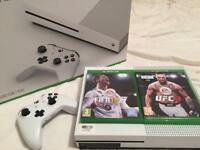 Xbox One 500gb with FIFA 18 & UFC 3