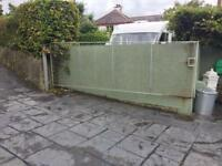 Metal Gate 3800mm x 1246mm