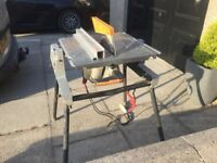 Elu TGS 173. Flip over table/chop saw