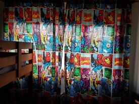 Avengers curtains