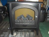 stove effect electric fire