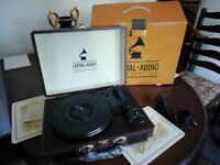 capital audio corperation record player