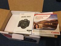 EOS canon 700D DSL camera Brand new