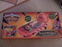 Power Rangers Jungle Fury Super Pinball Game