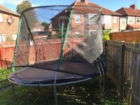 trampoline 12 feet hardly been used.