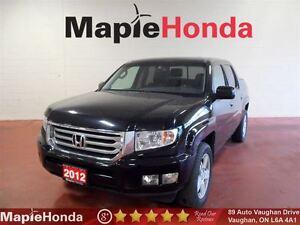 2012 Honda Ridgeline Touring| Navigation| Leather| Sunroof| Only