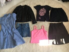 KIDS GIRLS BUNDLE OF CLOTHES SIZE 6 - 7 YEARS