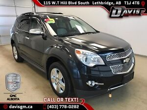 Used 2012 Chevrolet Equinox-AWD-Heated Two Tone Leather, Remote