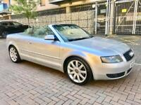 2005 Audi A4 sport cabriolet automatic 2.4 petrol full service history