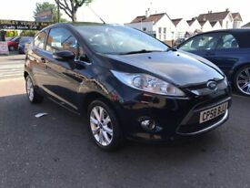 Ford Fiesta 1.2 Petrol Manual 3 Door Hatchback Black 2008 Fantastic Car