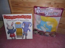 2 sets of dolls sewing sets