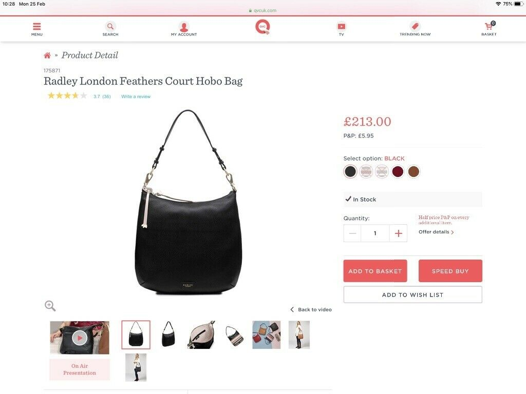 a0c28142b9b Radley Hobo Handbag | in Murrayfield, Edinburgh | Gumtree