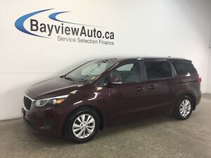 2017 Kia SEDONA LX- ALLOYS! HEATED SEATS! REV CAM! BLUETOOTH!