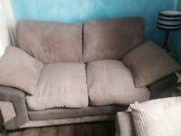 2 and 3 seater sofa set