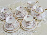Paragon Victoriana Rose 15 Piece China Tea Set