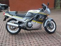 Yamaha FZ750 for sale .... Much sought after classic road/race bike ...