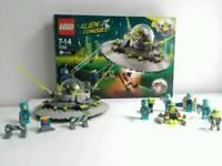 Lego Alien Conquest UFO Abduction + Figure Pack