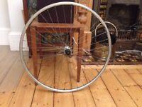 700c Road Bike Rear Wheel: Shimano Hub Rigida Chrina Rim