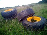 JCB Wheels size 15.5 - 25 - Qty4