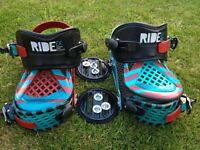 Ride Ex Snowboard Bindings (excellent condition)