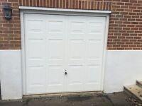 Immaculate Up and Over Garage Door