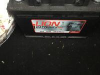 Car Battery - Brand New - Never Used - Lion 096 70 Ah EN640 High Performance