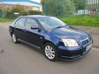 TOYOTA AVENSIS 2.2 D-4D T3-S 12 MONTHS M.O.T