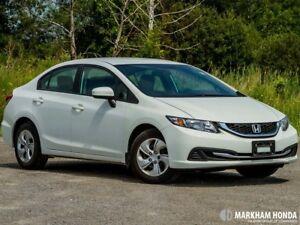 2015 Honda Civic Sedan LX CVT - BACKUP CAMERA | KEYLESS ENTRY