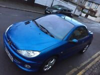 Peugeot 206 cc leather low mileage good condition