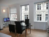 Bright City studio 1 minute's walk from the Bank of England