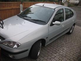Renault Megane with new MOT