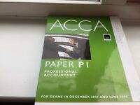 BPP ACCA P1 Study Text and Revision Kit