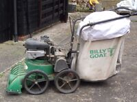 Billy Goat petrol powered garden vacuum